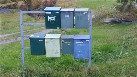 Oppgradering postkassestativ