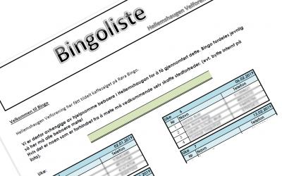Bingoliste 2019